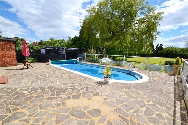 Patio & Pool Area
