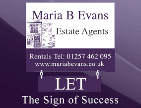 Get brand editions for Maria B Evans Property Management Ltd, Parbold