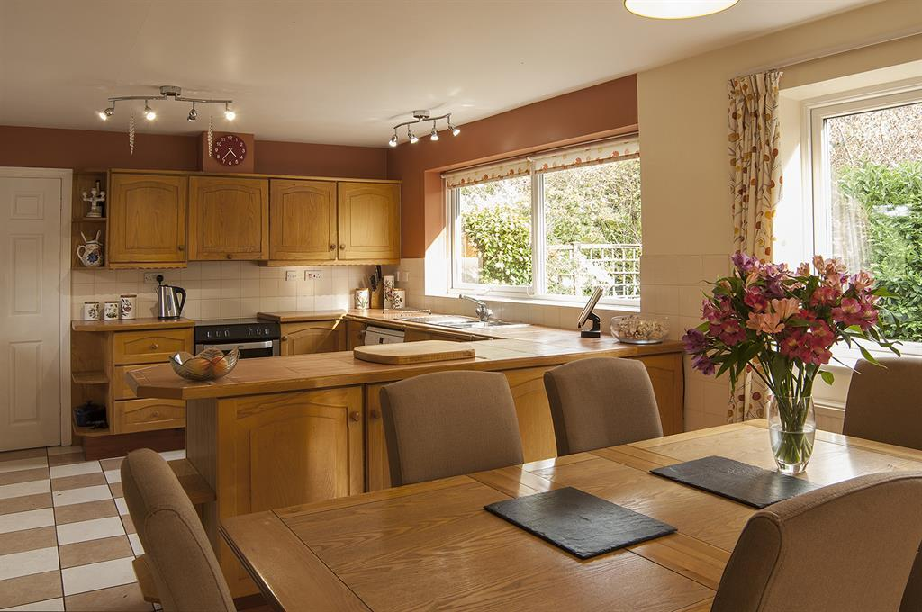 Kitchen, Dining & Family Area