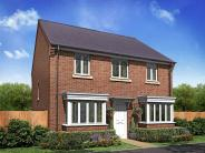 new house in Tansey Green Road...