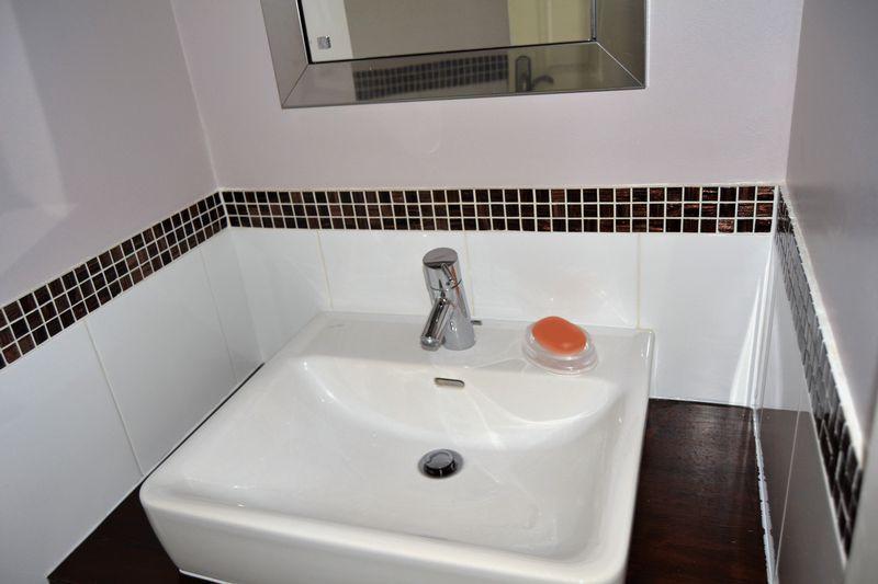 Bathroom wash ...
