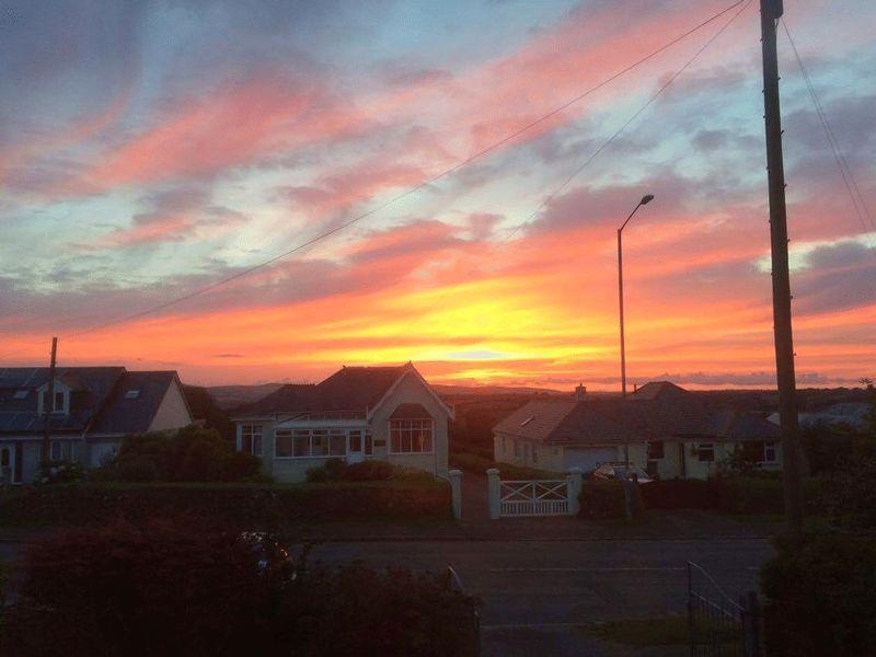 Sunset from pr...