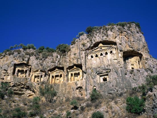Dalyan Tombs