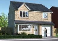 4 bed new house for sale in Orchard Grove, Stanley...