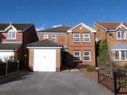 4 bed Detached house to rent in Danvers Drive, Mansfield...