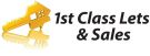 1st Class Lets and Sales, Glasgow branch logo