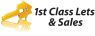 1st Class Lets and Sales, Glasgow logo