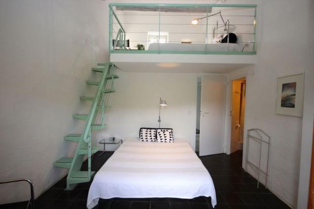 Bedroom + mezzanine