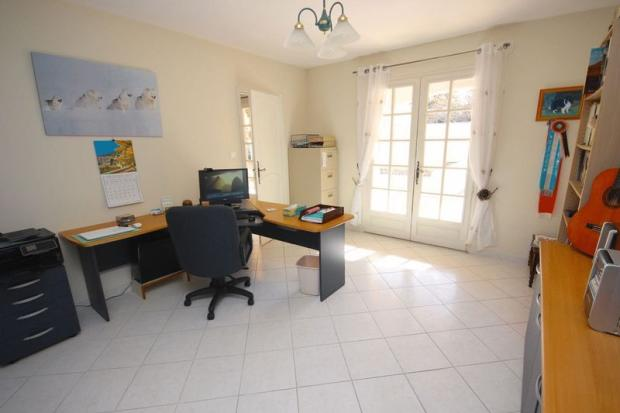 Office opens onto