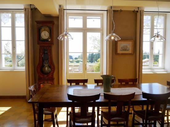 Dinning room view