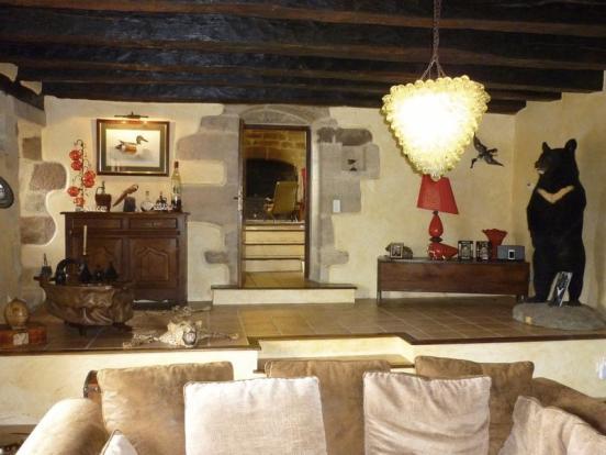Chateau Sitting Room