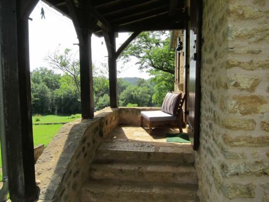 Gîte porch