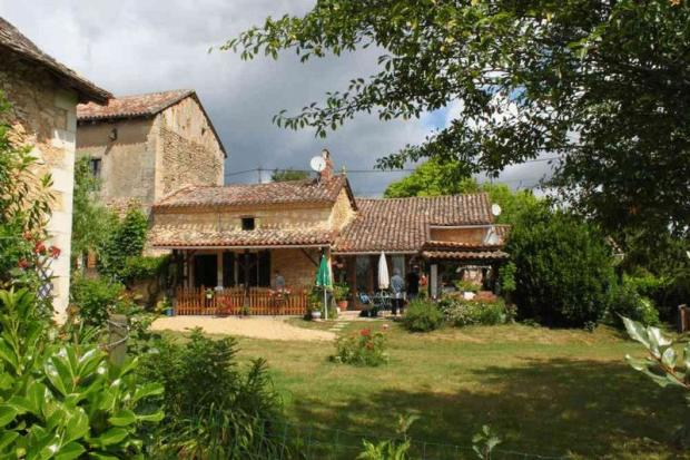 House and gite from