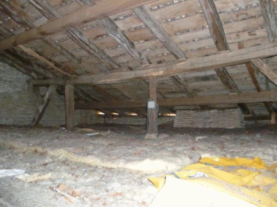 Cottage attic