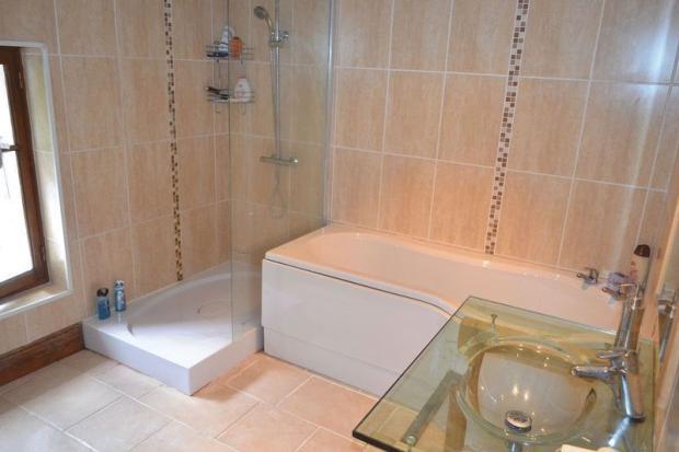 Bathroom, newly...