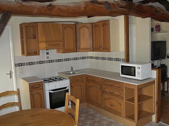 Kitchen in the gite