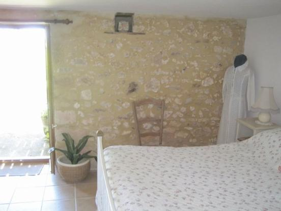 Gîte bedroom