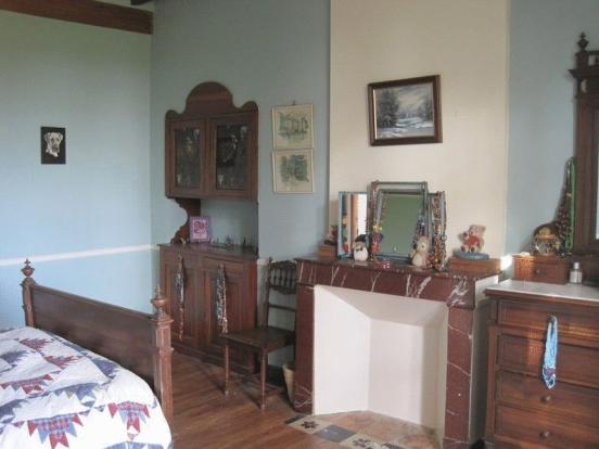 Bedroom with period