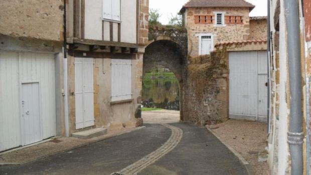 Stone arch way...