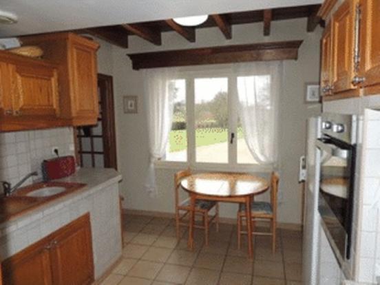 Kitchen with views