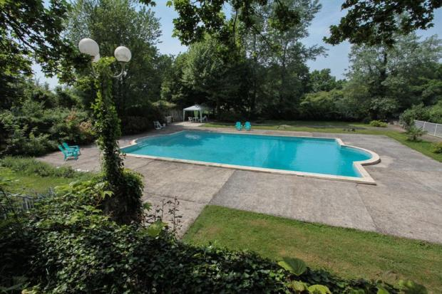 Pool area - View...