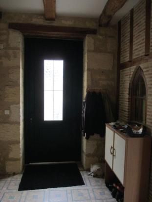 Front entrance of