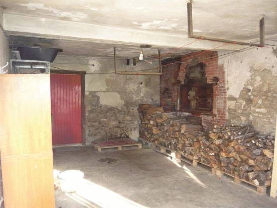 Former bakery room
