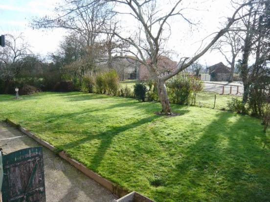 Garden view towards