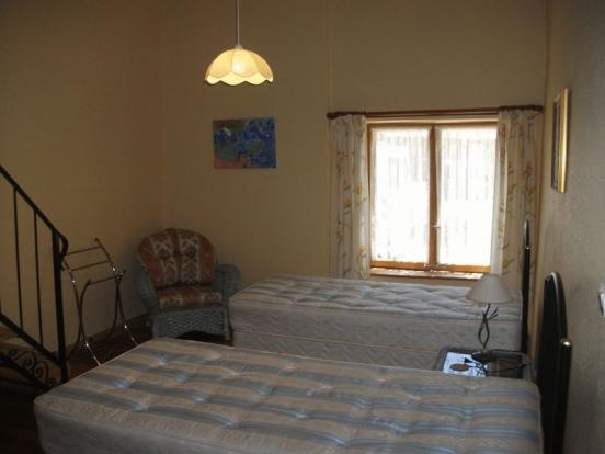 Gite - main bedroom