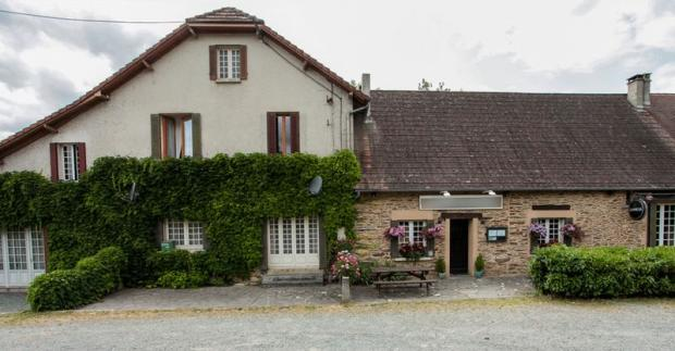 Front view of pub