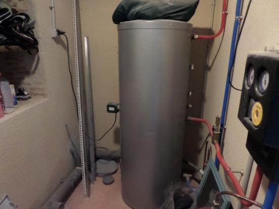 Solar water storage