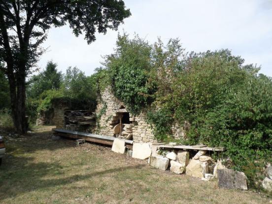 Ruin of bread oven