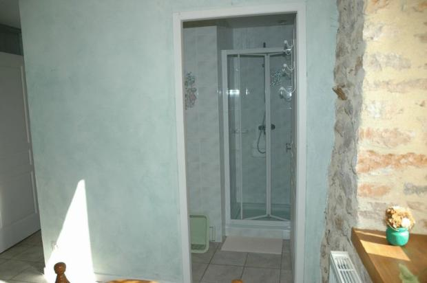 Shower room...