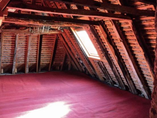 Half of loft