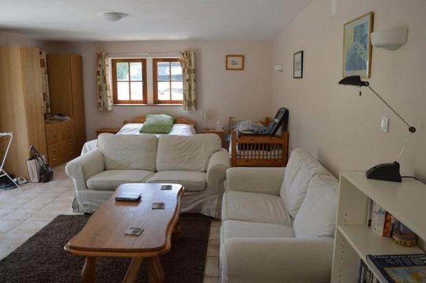 Apartment lounge...