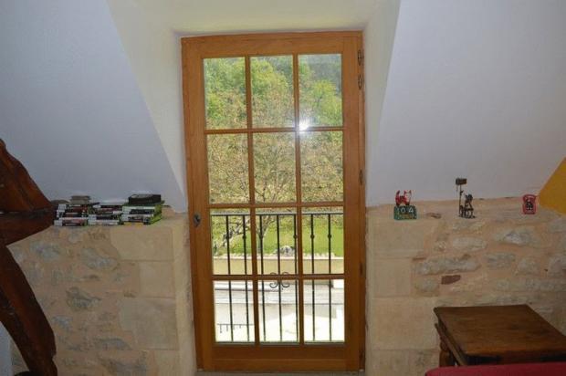 Lounge window above