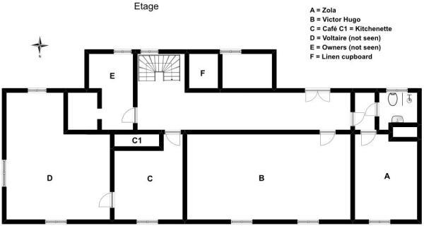 First floor sketch