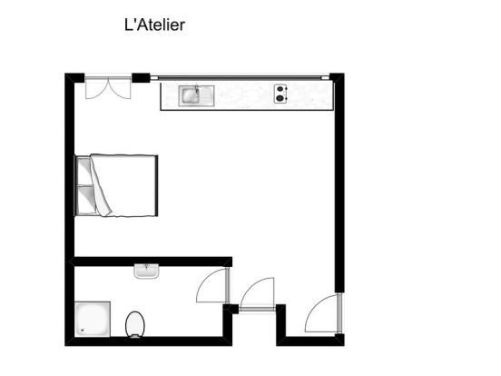 Cottage sketch plan