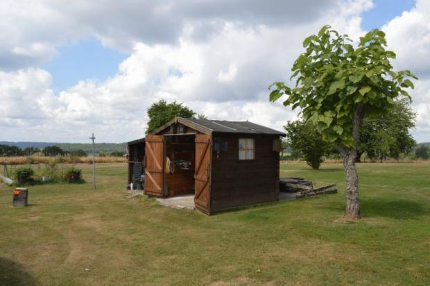Garden shed for...