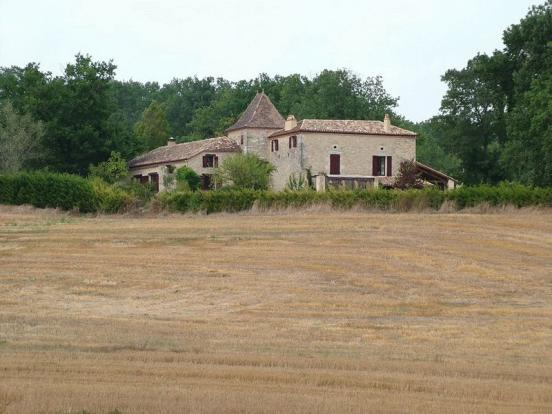 Farmhouse with...