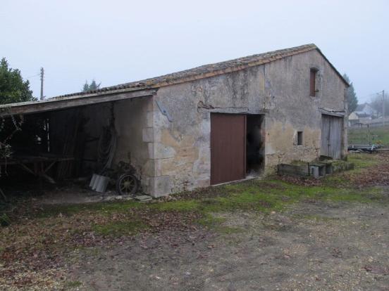 Barn opposite house