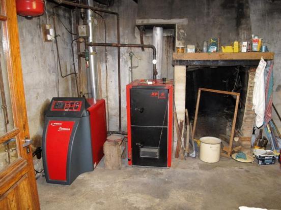 Boiler room, oil &