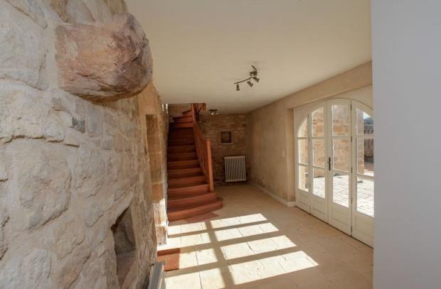 Hallway below