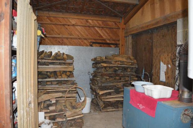 Boiler room/garage