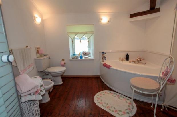 New bathroom in loft