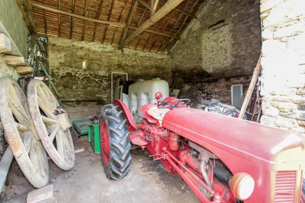Barn next to...