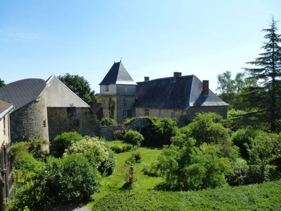 The chateau and...