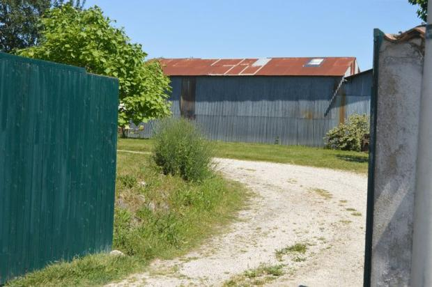 Gates and hangar