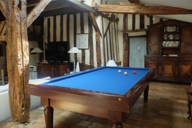 Manor billiard room