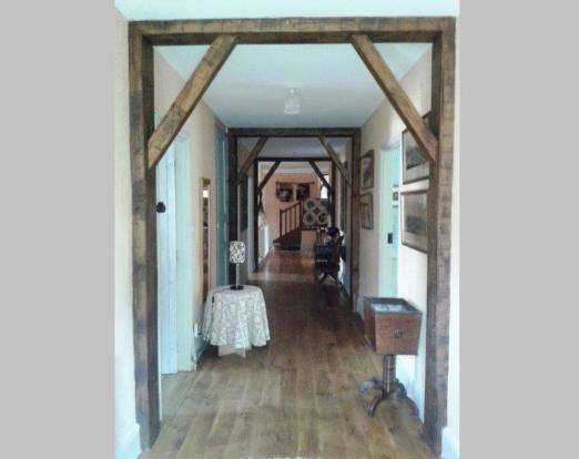 Hallway to guest...